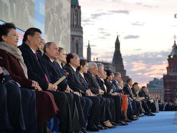 Председатель Китайской Народной Республики Си Цзиньпин и президент России Владимир Путин