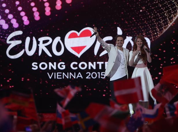 Представители Норвегии Морланд и Дебра Скарлетт, 8 место
