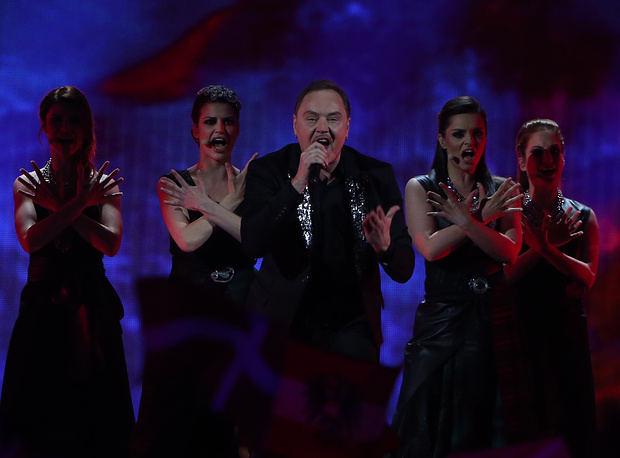 Представитель Черногории Кнез (Ненад Кнежевич), 13 место