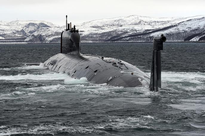 """Многоцелевая атомная подводная лодка """"Северодвинск"""""""