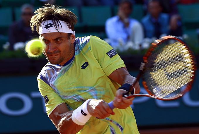 Давид Феррер (7), финалист одного турнира Большого шлема в одиночном разряде (Roland Garros-2013), уступил Энди Маррею (3)