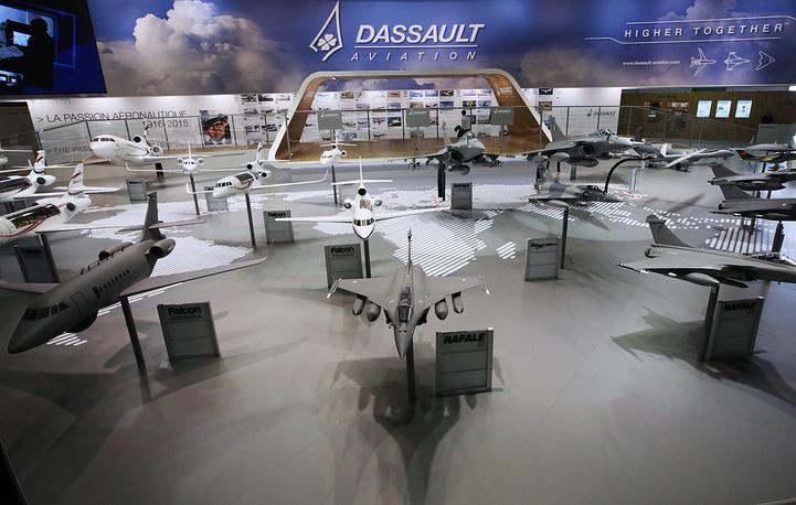 Стенд Dassault