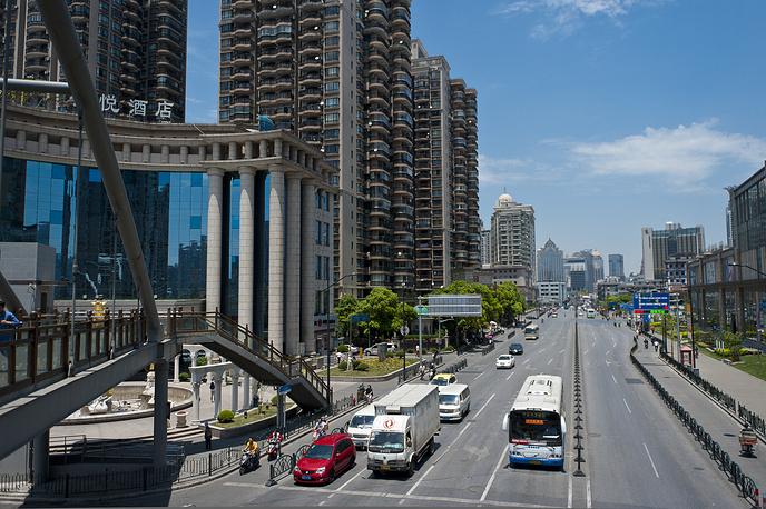 Шестое место - Шанхай, КНР