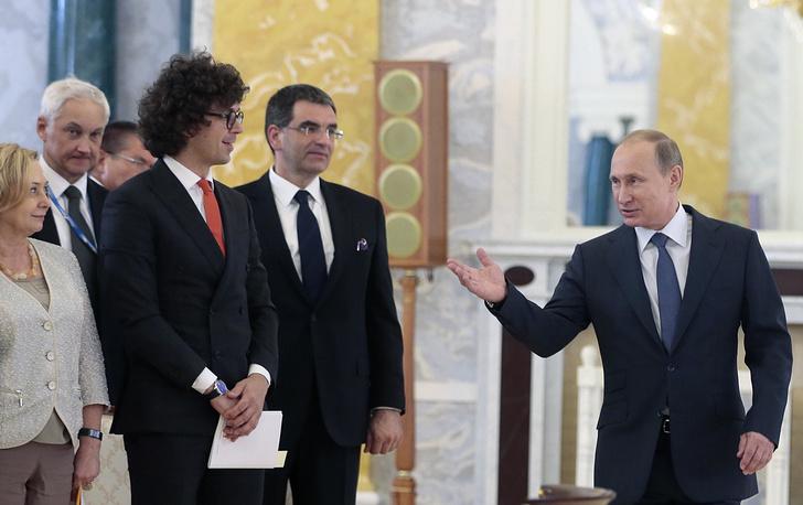Президент России Владимир Путин на встрече с руководителями российских промышленных компаний