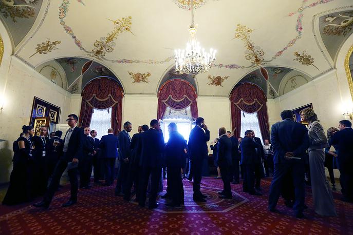 На торжественном вечере от имени губернатора Санкт-Петербурга для гостей и участников XIX Петербургского экономического форума, 18 июня