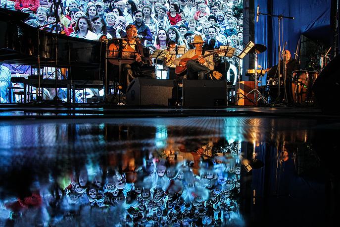 Оркестр Scurdia на открытии Венского фестиваля в Екатеринбурге