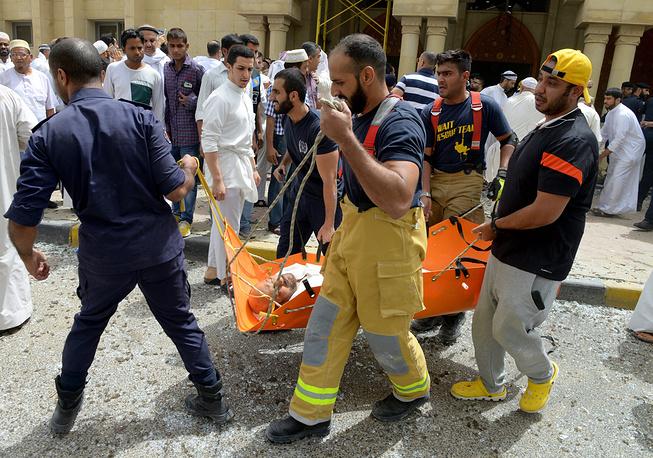 """Террористическая группировка """"Исламское государство"""" взяла на себя ответственность за взрыв"""