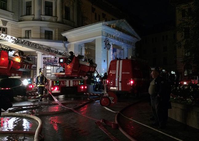 Возгорание возникло в помещении, которое находилось на реконструкции