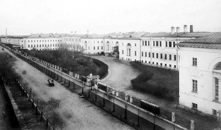 Главный учебный корпус, 1840-е годы