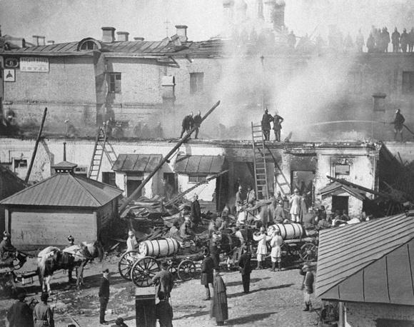 Пожар в Москве, 1871 год