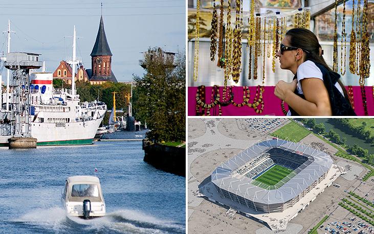 Футбольный стадион в Калининграде будет построен специально к чемпионату мира. Первоначально планировалось, что арена будет вмещать 45 тыс. зрителей, однако позднее было принято решение сократить вместимость до 35 тыс. мест. Площадкой для строительства стадиона остается изначально выбранный остров Октябрьский. Сдача в эксплуатацию - 2017 год