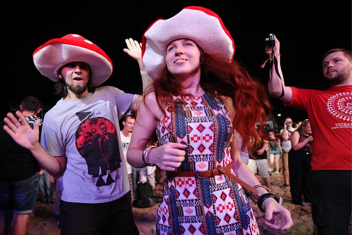 Зрители во время открытия фестиваля KUBANA-2015