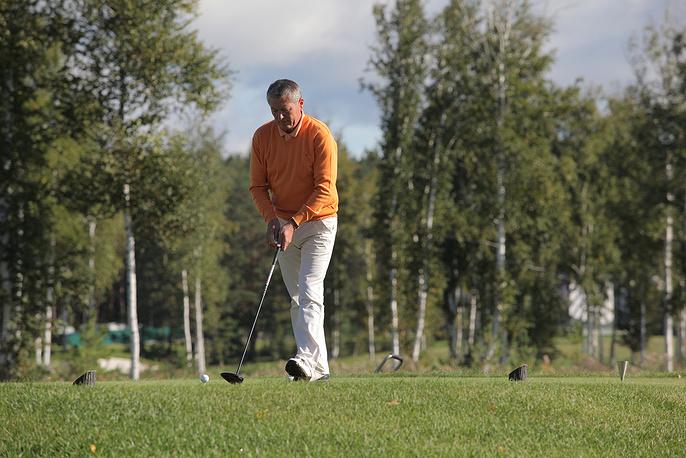 Исполнительный директор Федерации гольфа Свердловской области Владимир Ульшин
