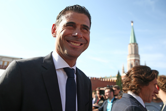 Бывший капитан сборной Испании Фернандо Йерро