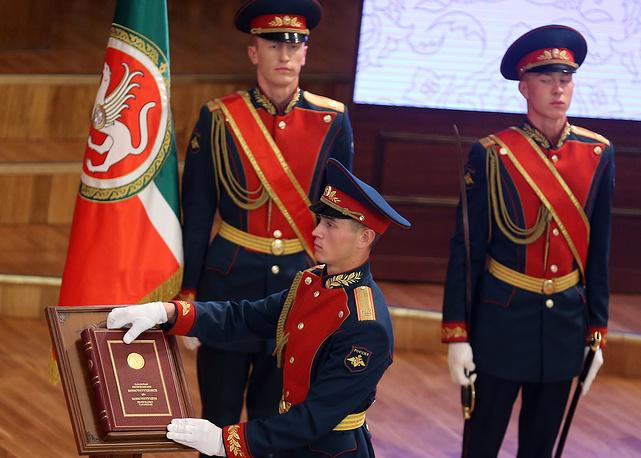 Торжественная церемония вступления в должность избранного главы Республики Татарстан Рустама Минниханова
