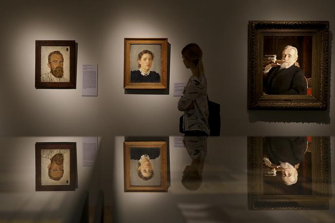 Портреты Владимира и Надежды фон Дервиз, 1888 год