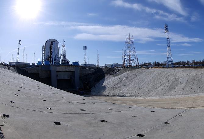 Использование башни позволяет значительно увеличить безопасность персонала при подготовке ракеты-носителя к старту