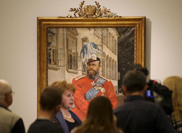 Портрет императора Александра III,1899 год