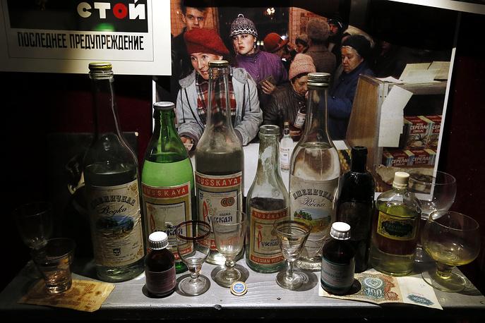 """""""Я не теряю надежды, что наше общество бросит пить вообще, и алкоголь будет стоять только в музеях"""" (пресс-конференция 14 марта 2007 г.). """"Думаю, что в 2008 году произойдет перелом, и мы, слава богу, возродимся в своем устремлении и избавим Россию от более чем 300-летнего загула, инициированного Петром I. Мы вернемся на круги своя, станем патриархальной, почитающей домострой в плане потребления алкоголя страной"""" (пресс-конференция 12 февраля 2007 г.)"""