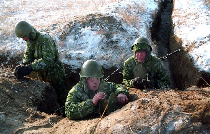 Полевые занятия управления инженерных войск Сибирского военного округа, 2003 год