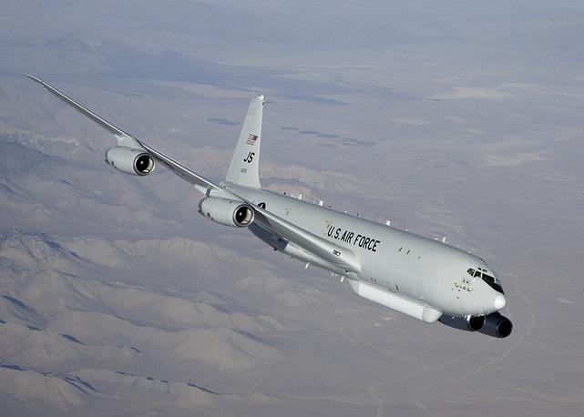 Самолет боевого управления и целеуказания E-8C JSTARS