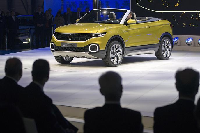 Новый Volkswagen T-Cross Breeze