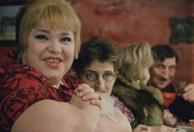 """Кадр из фильма """"Не может быть!"""", 1975 год"""