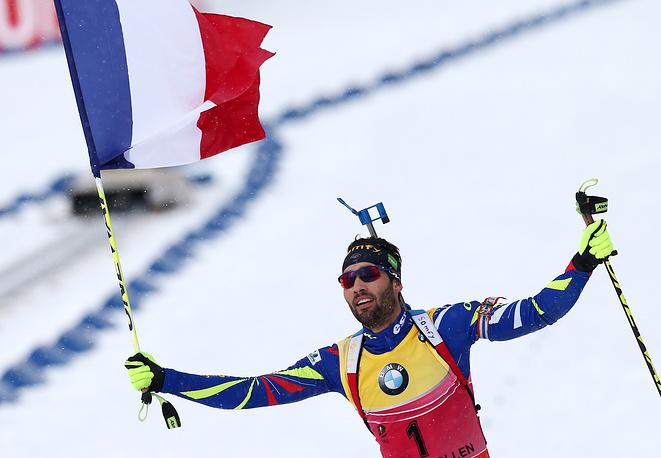 Мартен Фуркад стал девятикратным чемпионом мира