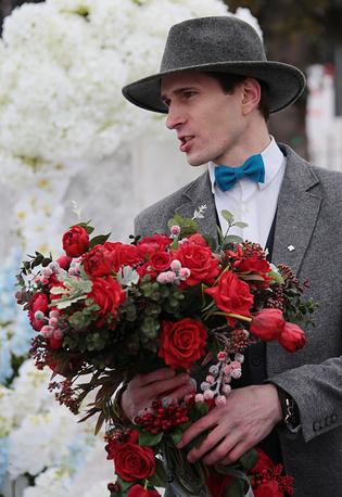 Праздничные мероприятия на катке ВДНХ, Москва