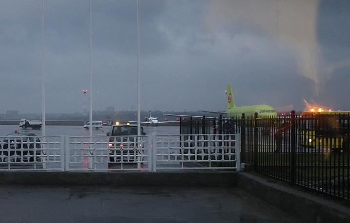 Вид из окна аэропорта