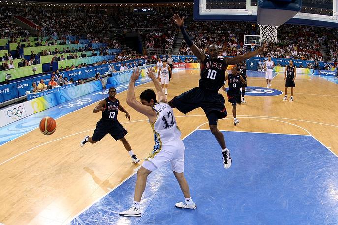 Во время полуфинального матча олимпийского турнира против команды Аргентины на Играх-2008 в Пекине