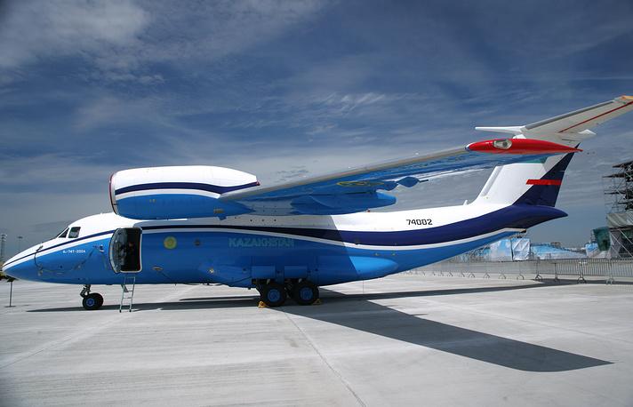 Самолет Ан-74 ВВС Казахстана