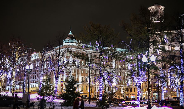 Москва загорится огнями