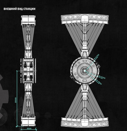 Конкурс насоздание космической станции «Мир-2» пройдет в Российской Федерации