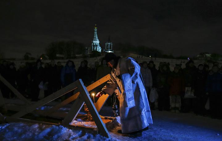 Празднование Крещения Господня в Московской области