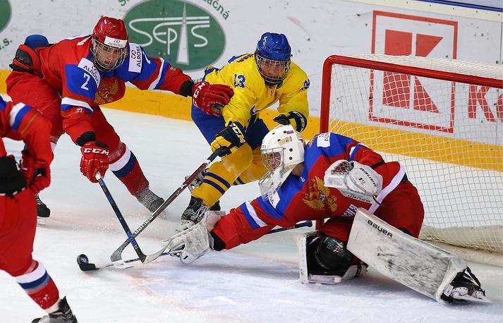 Юниорская сборнаяРФ похоккею завоевала бронзовую награду наЧМ