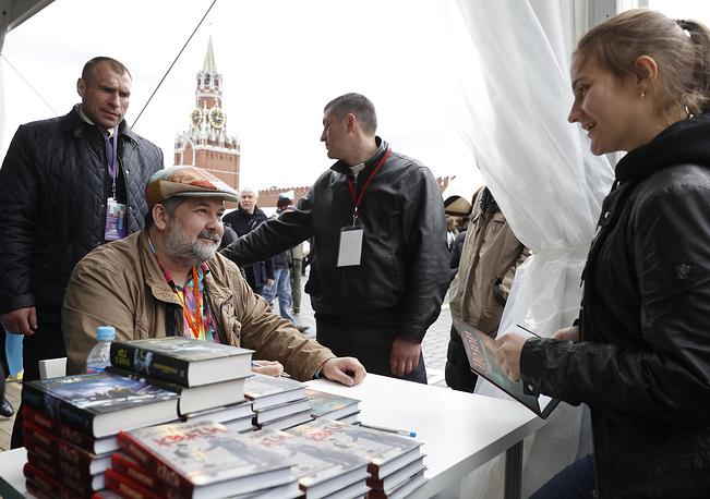 Писатель Сергей Лукьяненко