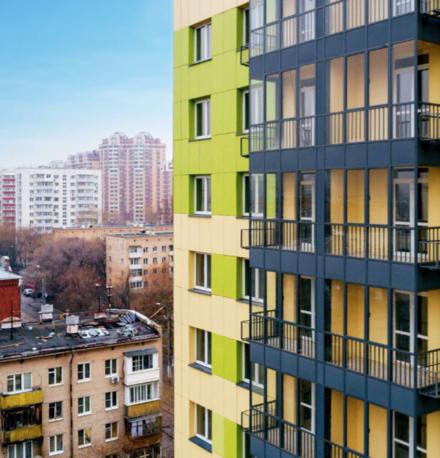 Планировка новых домов предусматривёает наличие балкона или лоджии в каждой квартире