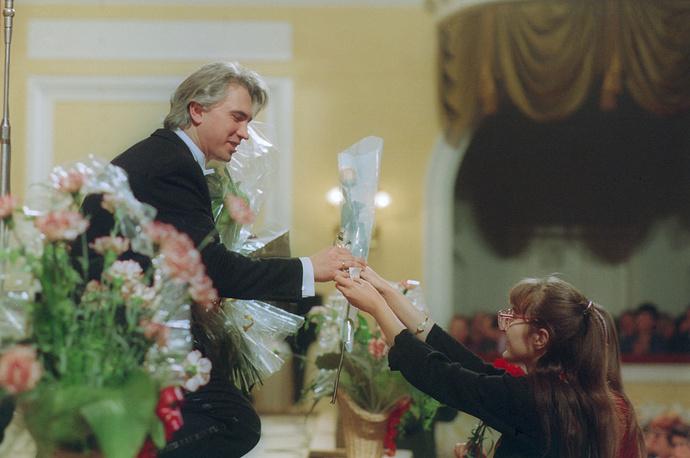 После концерта в Большом зале Московской консерватории, 1994 год