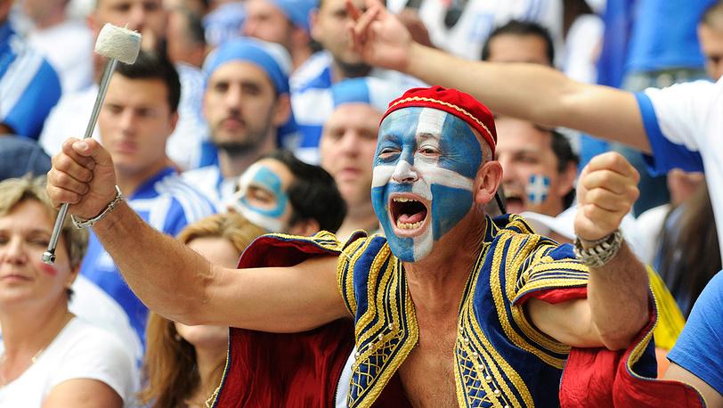 Фанаты из Греции