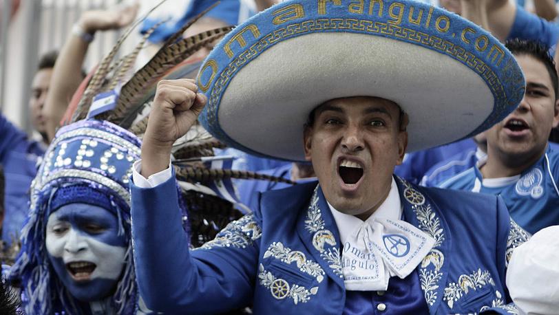 Фанаты из Сальвадора