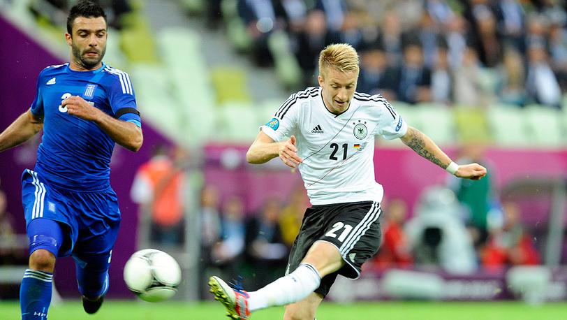 Матч сборной Германии и команды Греции (ЕВРО-2012)