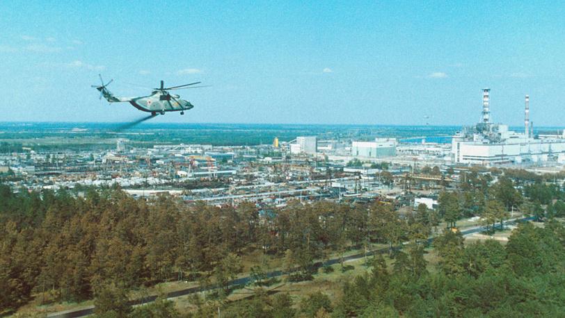 Украинская ССР. Дезактивация территории вокруг Чернобыльской АЭС