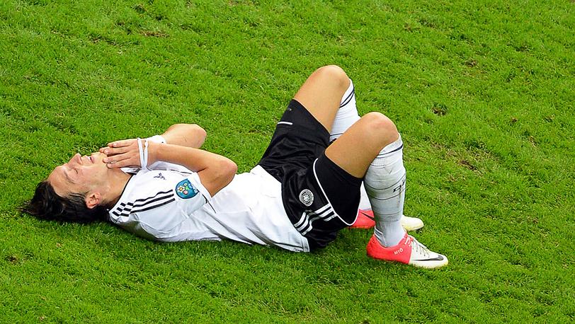 Сборная Германии потерпела поражение