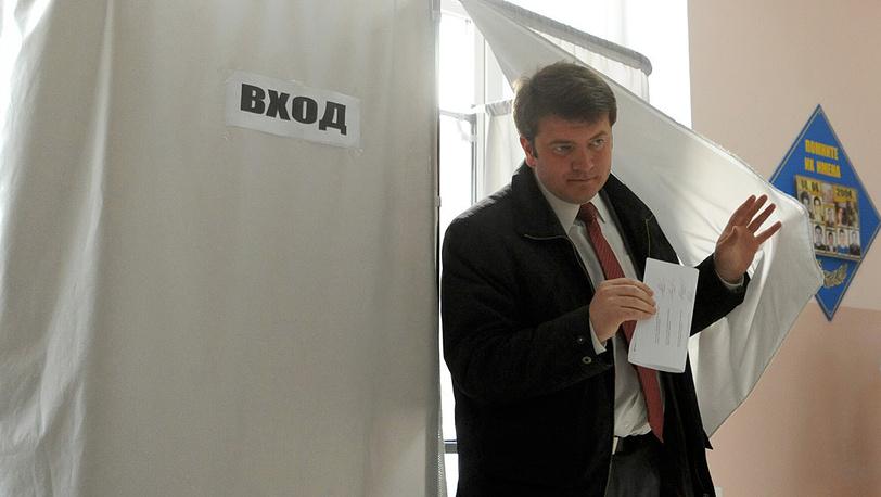 Кандидат в президенты Давид Санакоев