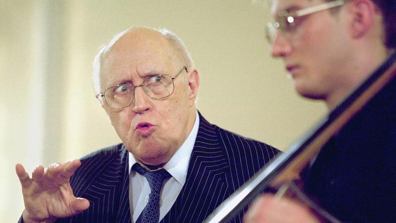 Мстислав Ростропович провел мастер-класс для студентов Санкт-Петербургской консерватории