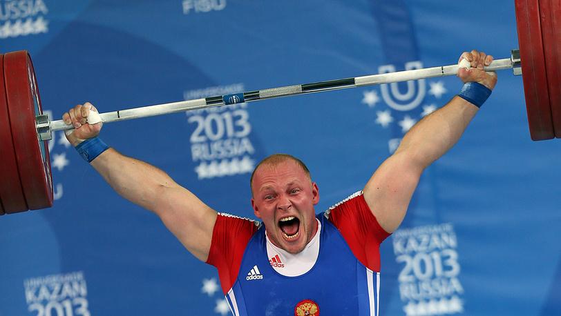 Российский спортсмен Анрей Деманов
