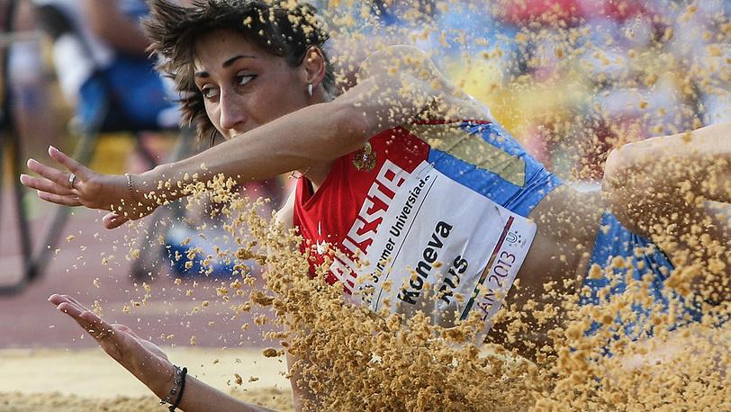 Российская спортсменка Екатерина Конева