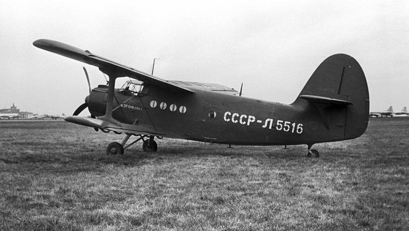 Многоцелевой одномоторный самолет Ан-2 1956 год