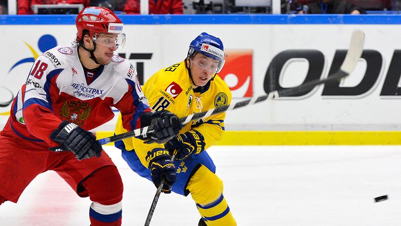 Матч Россия-Швеция